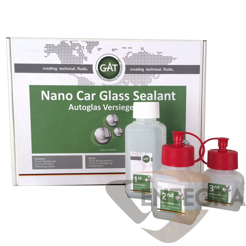 Nano Car Glass Sealent Set